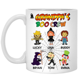 Nana's Boo Crew Halloween Special Personalized High  Quality Ceramic Coffee Mug Both Sides Print