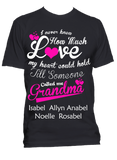 I never knew how much love my heart could hold T-Shirts, Hoodies ***On Sale Today Only***