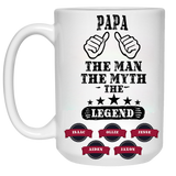The Man The Myth The Legend Personalized Coffee Mugs High Quality