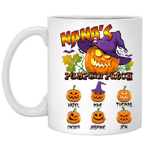Pumpkin Patch Halloween Special Personalized High  Quality Ceramic Coffee Mug Both Sides Print