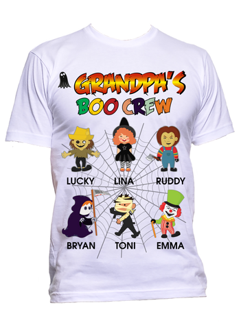 Halloween T-Shirts Nana's Grandma Boo Crew Special Edition ***On Sale Today Only***