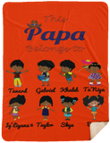 This Dad Nana Grandpa Poppy Belongs to Sherpa Blank Father's Day Special