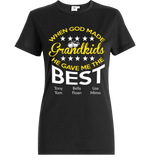 When god made Grand Kids he gave me best T-Shirts, Hoodies ***On Sale Today Only***
