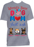 Best Dog Mom Ever - Select up to 4 Dogs