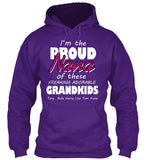 I am the proud nana of these freaking adorable grandkids T-Shirts, Hoodies On Sale Today Only