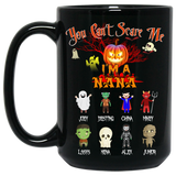 Halloween Special You Can't Scare Me Personalized High  Quality Ceramic Coffee Mug Both Sides Print