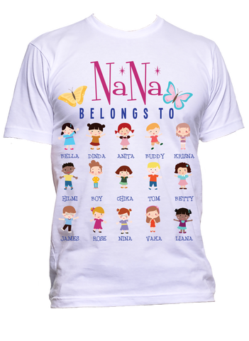This NaNa Belongs to  T-Shirts Hoodies New Edition Reduced Price