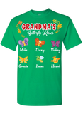 Grandma's  Butterfly Kisses Personalized T-Shirts Limited Edition On Sale Today Only