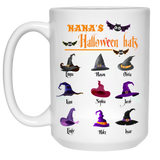 Halloween Hats Personalized High  Quality Ceramic Coffee Mug Both Sides Print