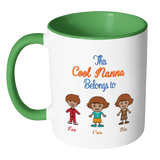 This cool nana belongs to Afro American children Colorful Coffee Mug - Limited Edition