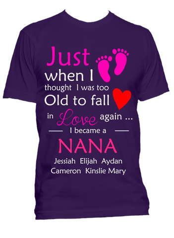 Just When I thought I was too old T-Shirts Hoodies ***On Sale Today Only***