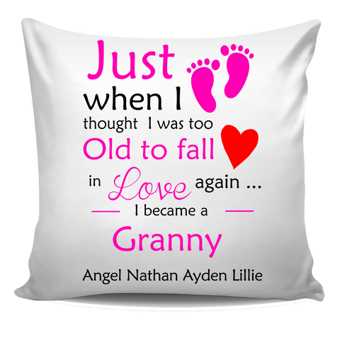 Just When I Thought I was too old to fall in love Pillow Cover
