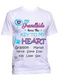 My Grandkids have the key to my heart T-Shirts, Hoodies  ***On Sale Today Only***