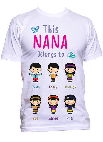This Nana Belongs To Personalized T Shirts Hoodies Special Edition On Sale Today Only