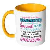 Special Grandma Colorful Coffee Mug - Limited Edition