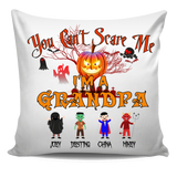 You Can't Scare Me Halloween Special Personalized Pillow Cover