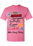 This Grandma is never too busy for Butterfly Kisses T-Shirts Limited Edition On Sale Today Only