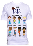 This Grandpa/Papa/Poppy Belongs to T-Shirts Father's Day Gifts ***ANY NICK NAME***