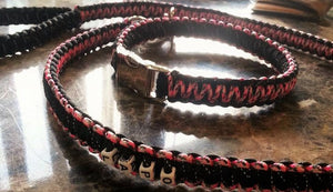 Large Paracord Dog Collar