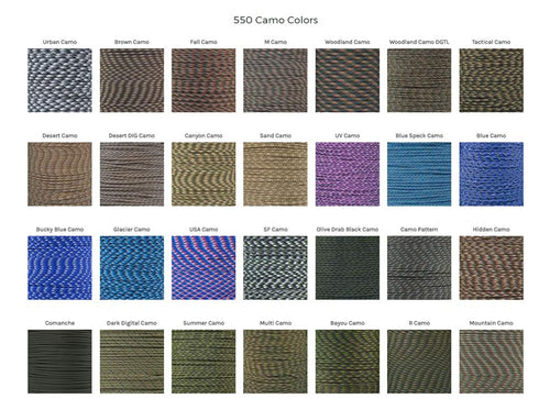 Camo Color Collection