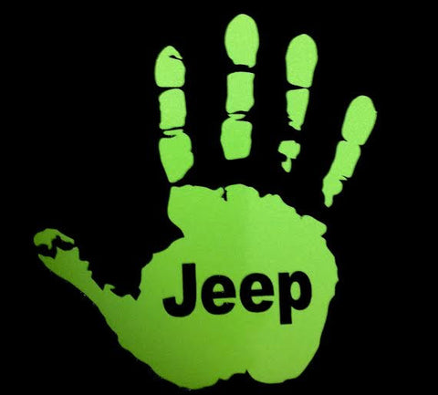 Jeep Wave Decal - Driver Side