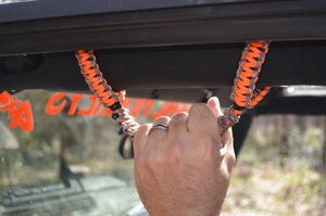 Front JK Roll Bar Grips