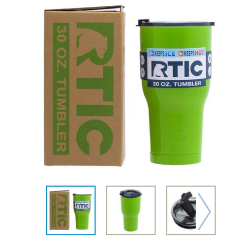 Lime Green  30oz RTIC Tumbler