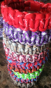 Single Color Paracord Bracelet