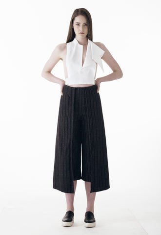 Ava Striped Pant Skirt