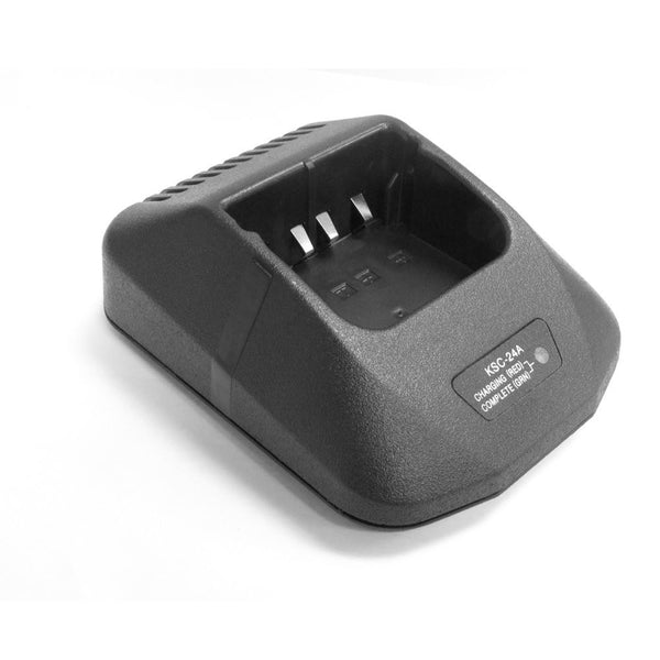 Product image for Compatible Kenwood KNB-17A Single Bay Rapid Desk Charger