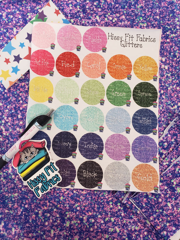 Glitter Swatch Sample Pack