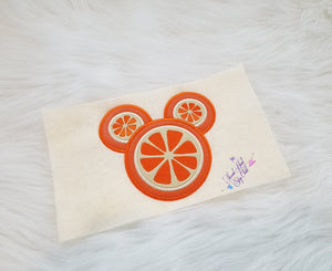 Yummy - Yummy Citrus Mouse Embroidery Applique Design