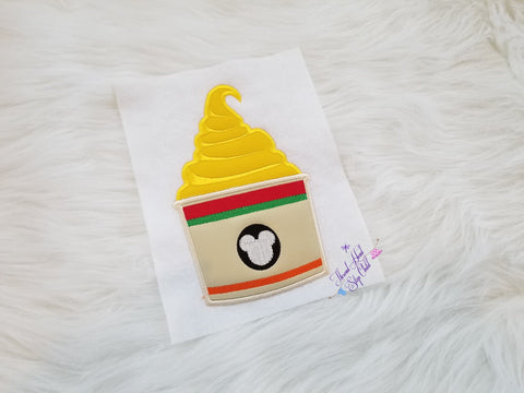 Yummy - Yummy Whip Embroidery Applique Design