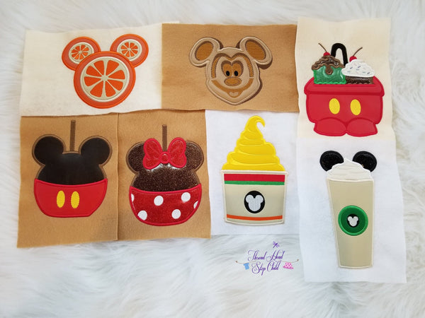 Yummy - Embroidery Applique Design Set