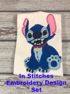 In Stitches - Embroidery Applique Design Set