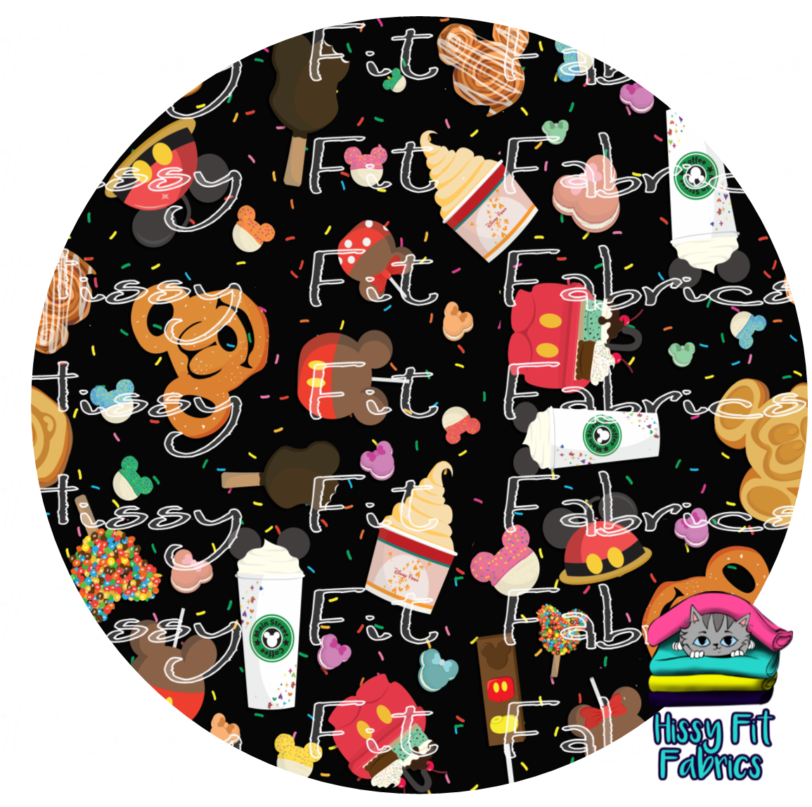 Flash Favorites - Yummy Black - Vinyl - DO NOT COMBINE WITH FABRIC ORDERS