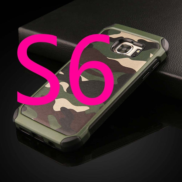 2 in 1 Army Camouflage for Samsung Galaxy