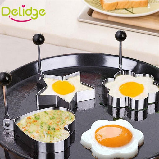 4 PCS Egg Molds Stainless Steel