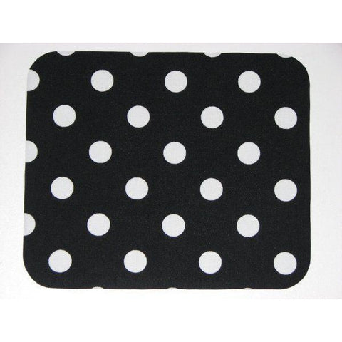 Mouse Pad in Black and White Polka Dots Great Teacher or Coworker Gift - Simply Chic Gal