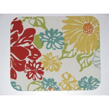 Large Floral Print Mouse Pad High Quality Red Yellow Blue Green Orange - Simply Chic Gal