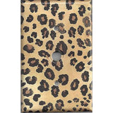 Cable Jack Cover in Leopard Spots Animal Print African Decor