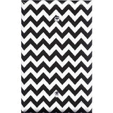 Black Chevron Pattern Single Blank Cover- Handmade Home Decor - Simply Chic Gal