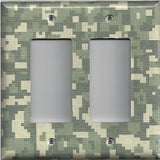 Army Digital Desert Camo/Camouflage Double Rocker/Decora Cover