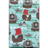 Phone Jack Cover in Pirate Ships and Sharks Boys Room Handmade- Simply Chic Gal