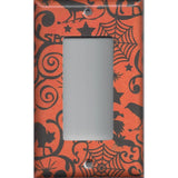 Halloween Witches Spider Webs Black Cats Bats Light Switchplates & Outlet Covers - Simply Chic Gal