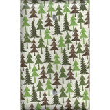 Single Blank Cover in Pine Tree Forest Rustic Log Cabin Decor - Simply Chic Gal