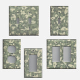Army Digital Desert Camo/Camouflage Light Switch Plates & Outlet Covers