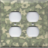 4 Plug Outlet Cover in Army Digital Desert Camo/Camouflage