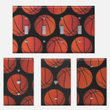 Basketball Light Switch Plate Covers & Outlet Covers Sports Theme Kids Room