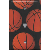 Basketballs Phone Jack Cover